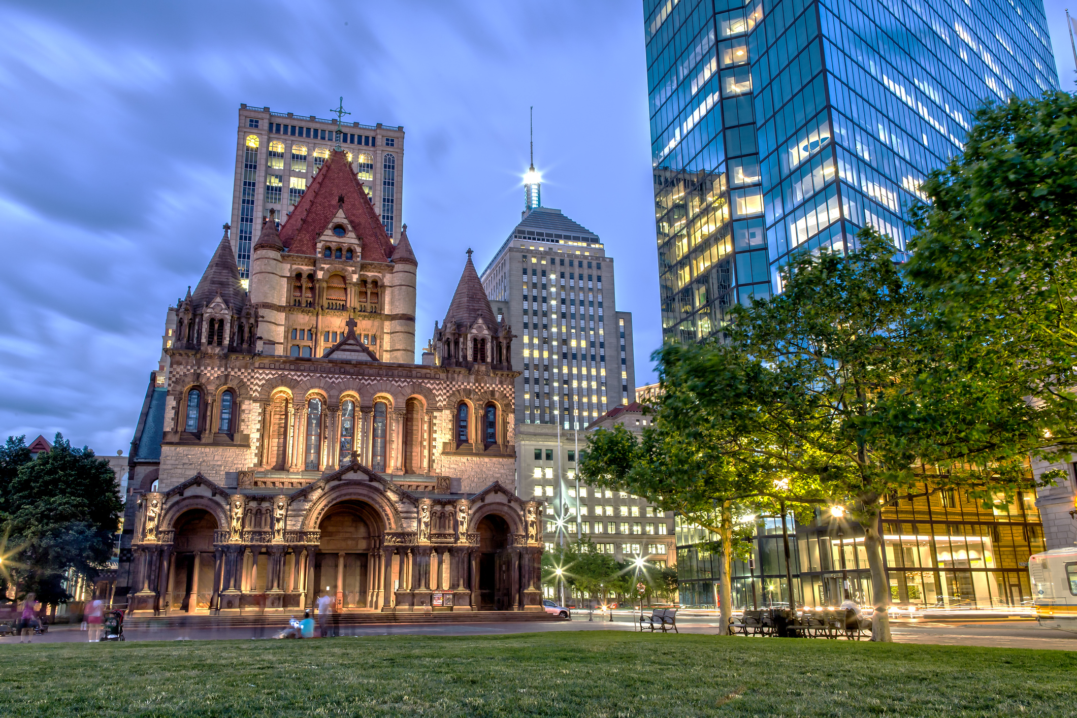 Beautiful Copley Square Picture